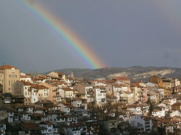 arc-en-ciel sur Veliko Tarnovo (Bulgarie) (ph. GW)