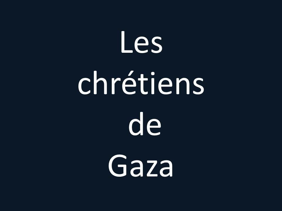 Les chrétiens de Gaza blog Maram