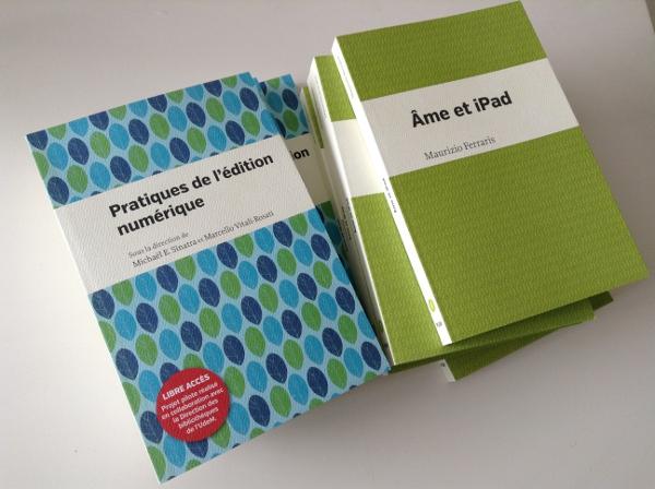 Parcours Numériques : les deux premiers livres